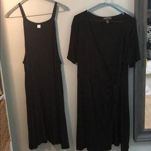 Bundle of two plus size Summer Dresses (Black)